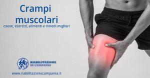 crampi muscolari fisioterapia napoli riabilitazione campania