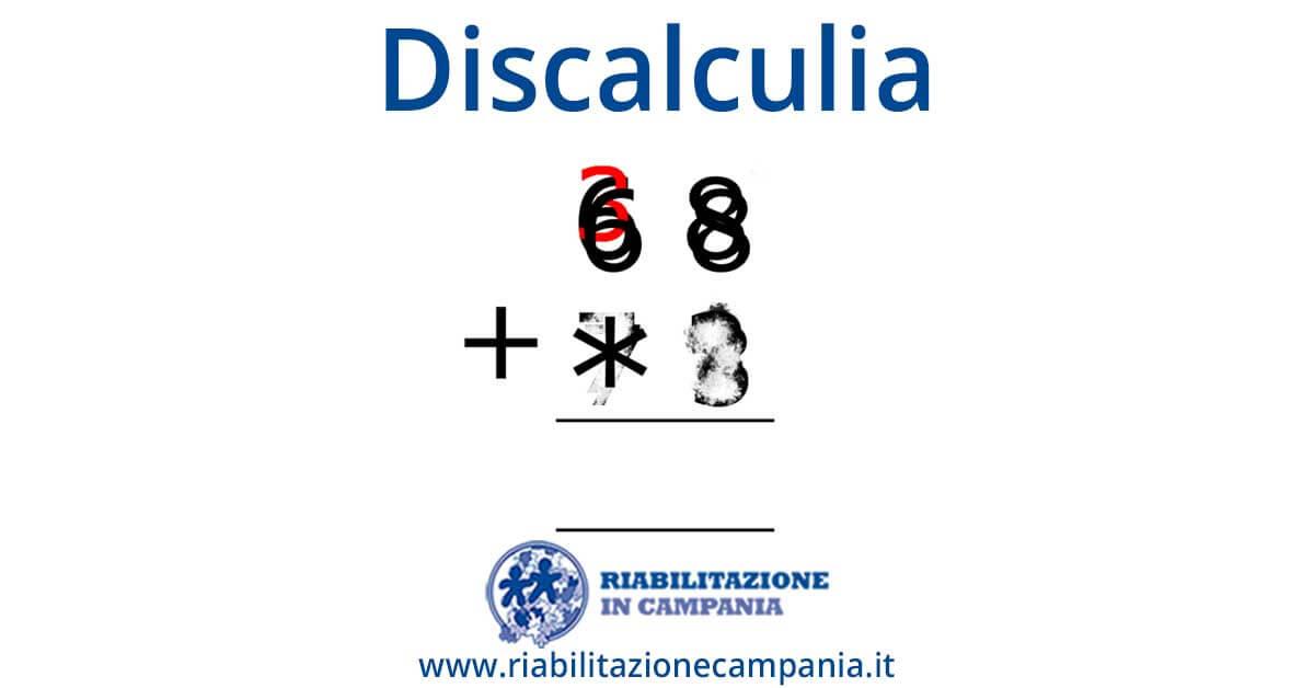 discalculia riabilitazione napoli