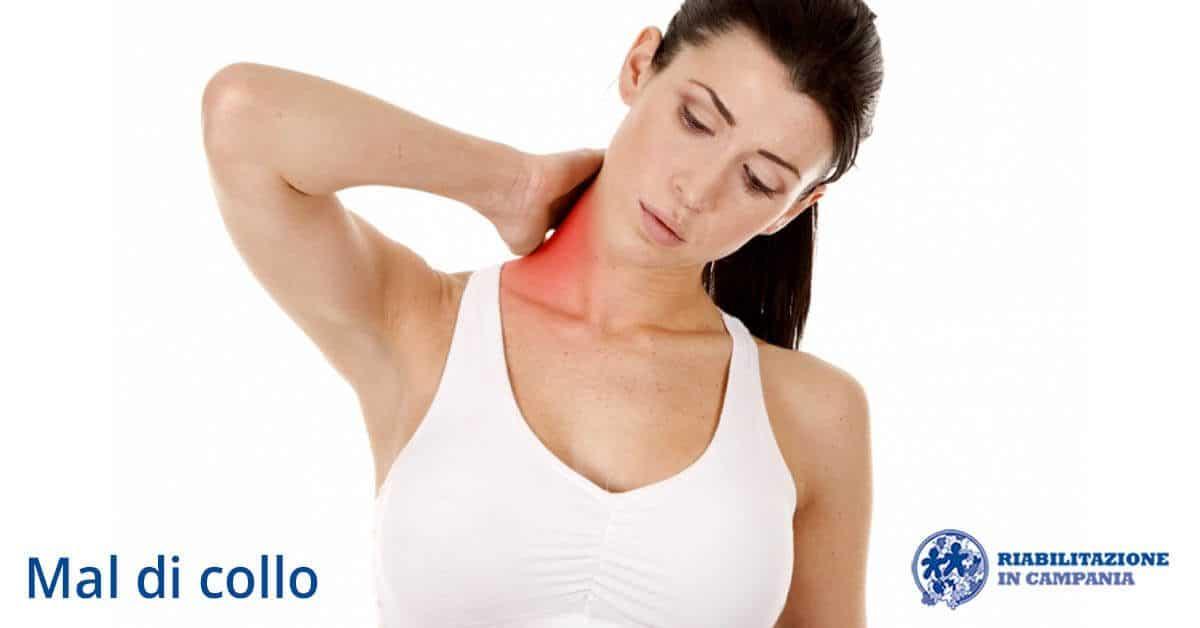 mal di collo riabilitazione campania