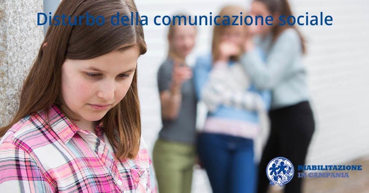 Disturbo della comunicazione sociale Riabilitazione campania sito