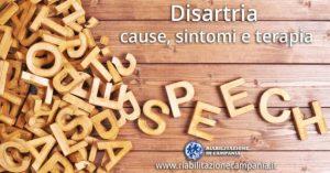 Disartria terapia e trattamenti riabilitazione campania napoli