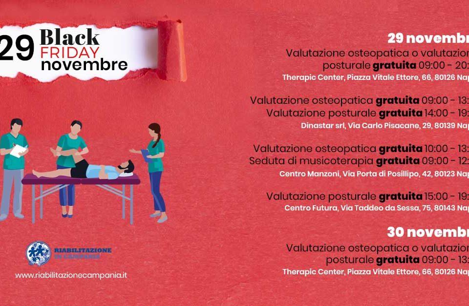 visite gratuite centri di fisioterapia napoli black friday