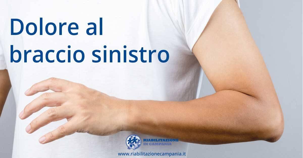 Dolore al braccio sinistro fisioterapia e riabilitazione napoli