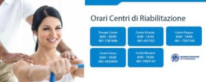 orari centri di riabilitazione fisioterapia napoli