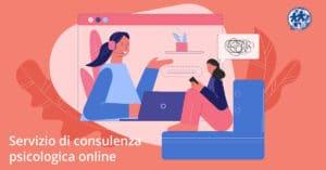 servizio di consulenza psicologica online