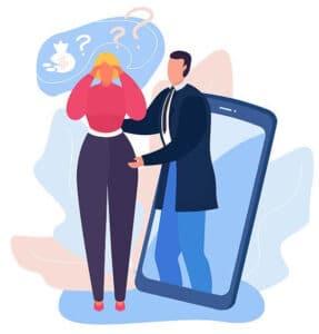 il servizio supporto psicologico online centri di riabilitazione