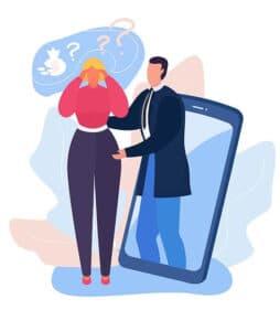 servizio supporto psicologico online centri di riabilitazione