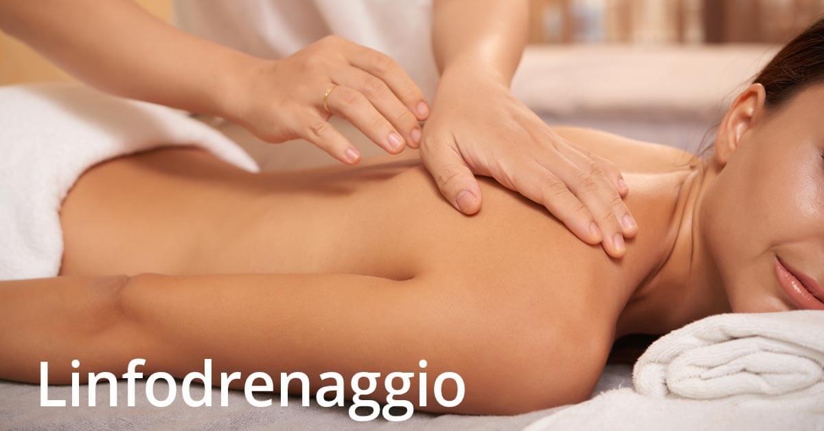 prenotazione servizi di linfodrenaggio e massaggio manuale
