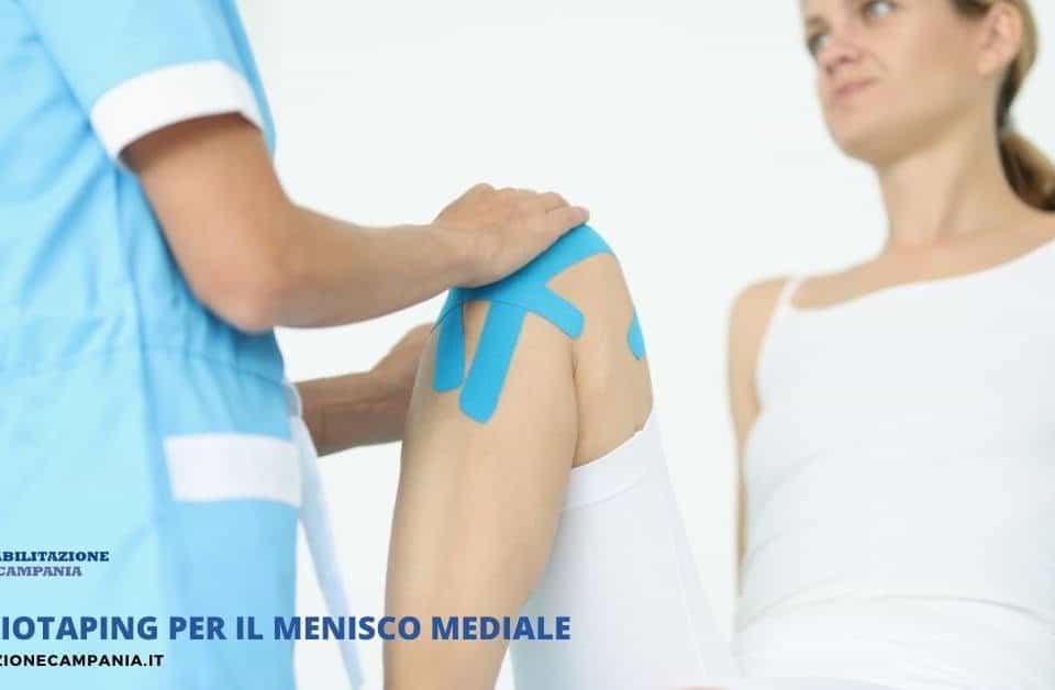 Il Kinesiotaping per la riabilitazione del menisco mediale può essere di grande aiuto per il ritorno alle attività sportive o quotidiane.