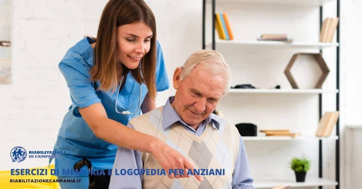 Esercizi di memoria e logopedia per anziani